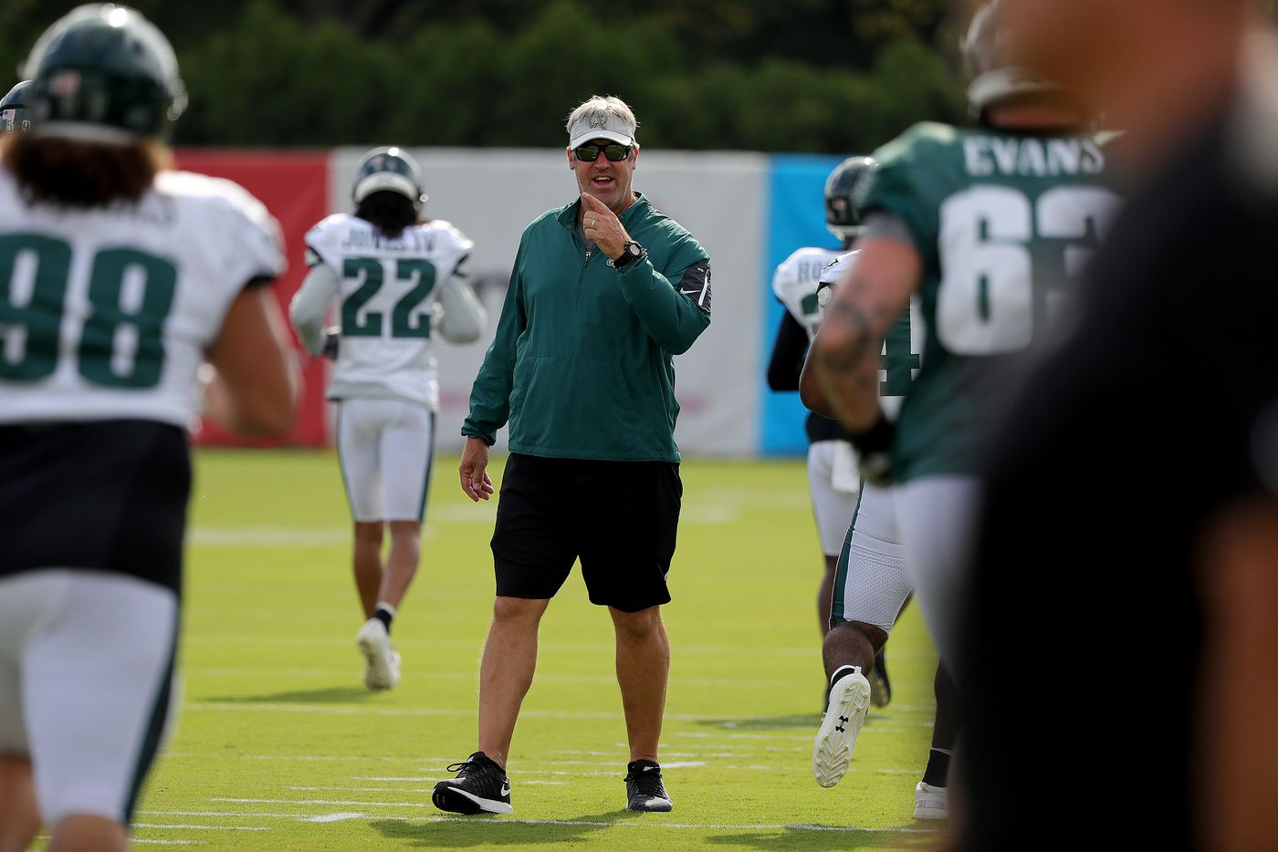 Taking stock of the Eagles after one week of training camp | Early Birds