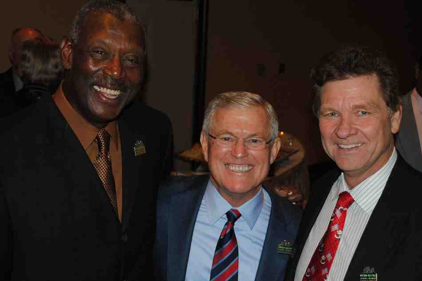 Harold Carmichael managed to keep his Hall of Fame selection a secret for nearly two days