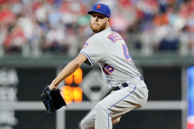New Phillie Zack Wheeler has never pitched 200 innings in a season.