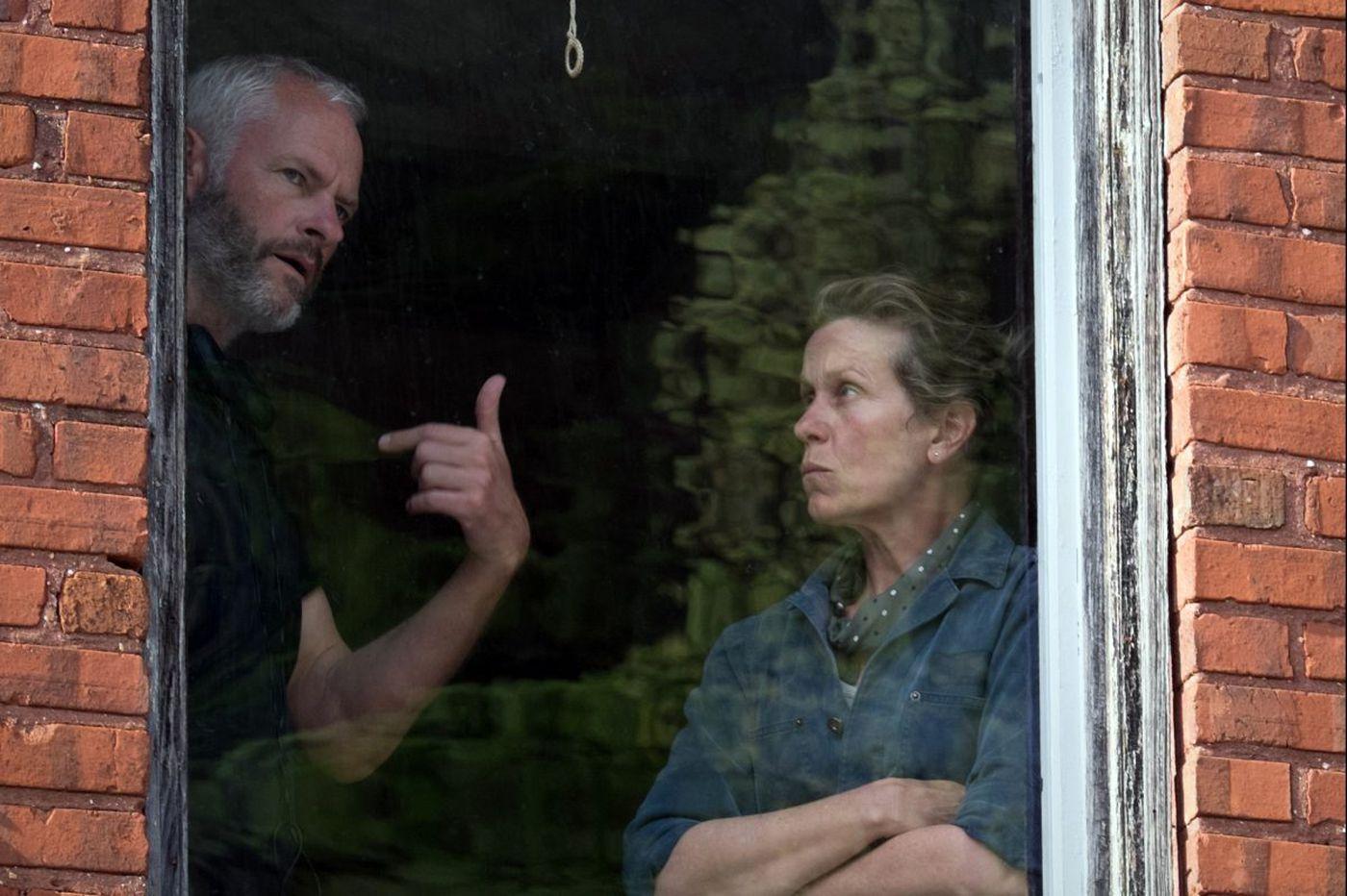 Director Martin McDonagh talks about his Oscar-buzz movie 'Three Billboards Outside Ebbing, Missouri'