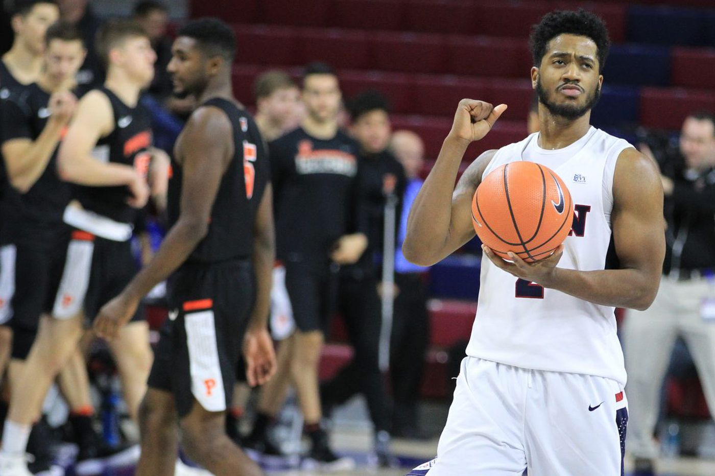 Penn's Antonio Woods went from morgue duty to solid contributor