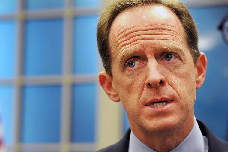 Pat Toomey has been one of the prime targets as activists on the left try to pressure Republicans into giving a hearing to an expected Obama nominee to the Supreme Court.