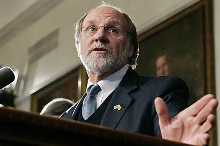 New Jersey Gov. Jon Corzine is considering an increase in the state's cigarette tax to help close the budget deficit. (Mel Evans/AP file photo)