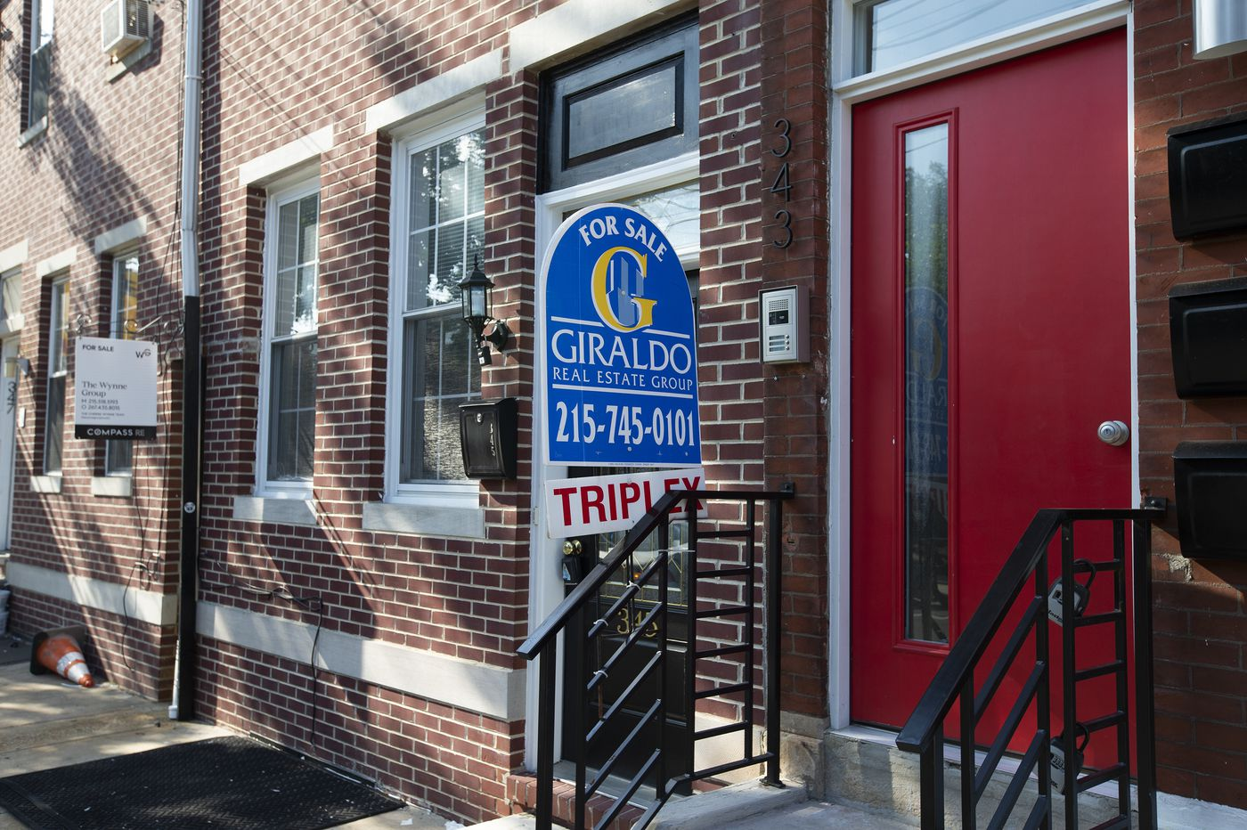 A historically low number of Philadelphia houses are for sale