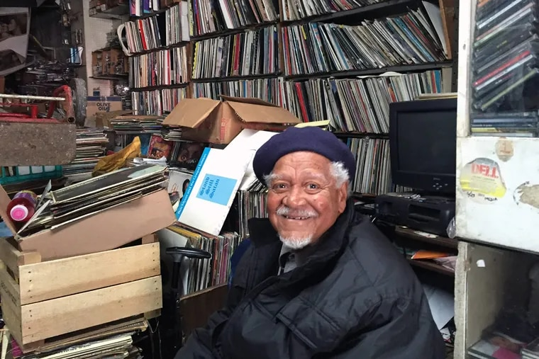 Bruce Webb, 82, owner of a record store on Ridge Avenue for the last 42 years: He says he gives music advice for a consulting fee.