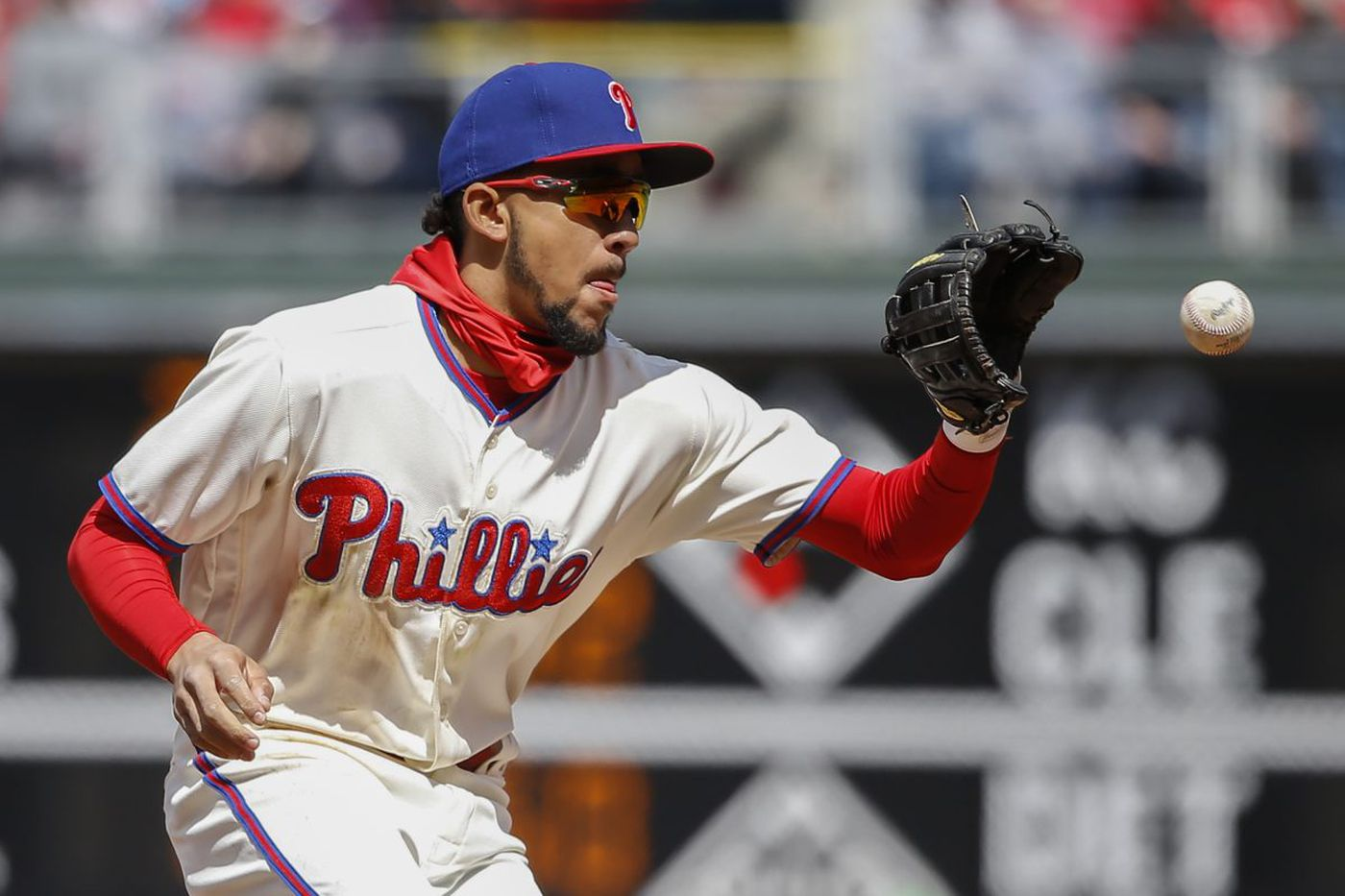 Phillies shortstop J.P. Crawford suffers strained forearm, could land on DL