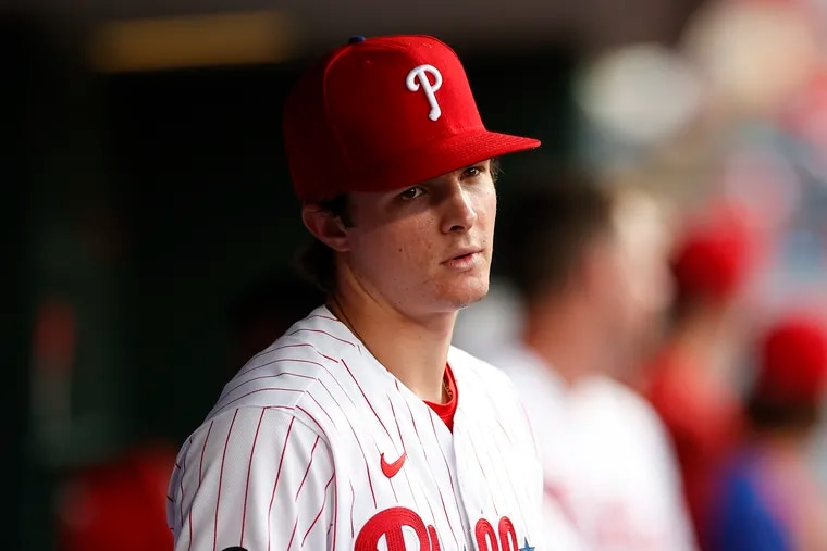 Phillies outfielder Mickey Moniak was called up Saturday from triple-A Lehigh Valley.