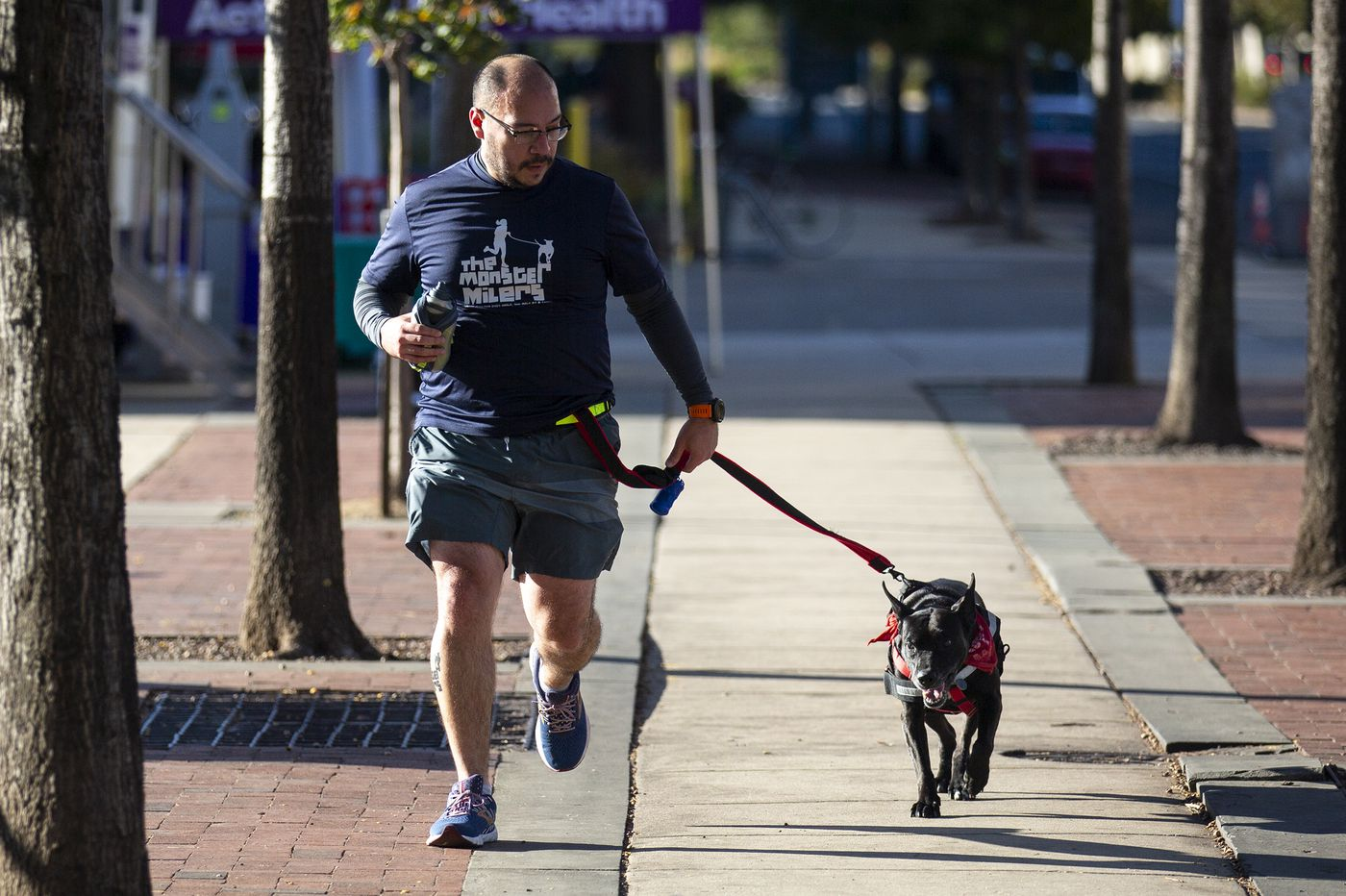 When the Monster Milers run with the dogs, they save lives