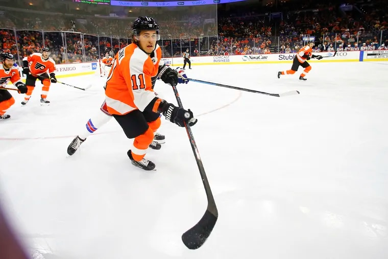Expect to see Travis Konecny more on the Flyers power play this season.