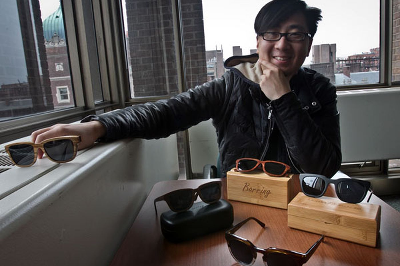 Designer-eyewear startup envisions growth while also giving back