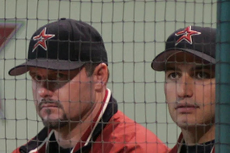 Roger Clemens (left) and Andy Pettitte are both named in Mitchell Report.