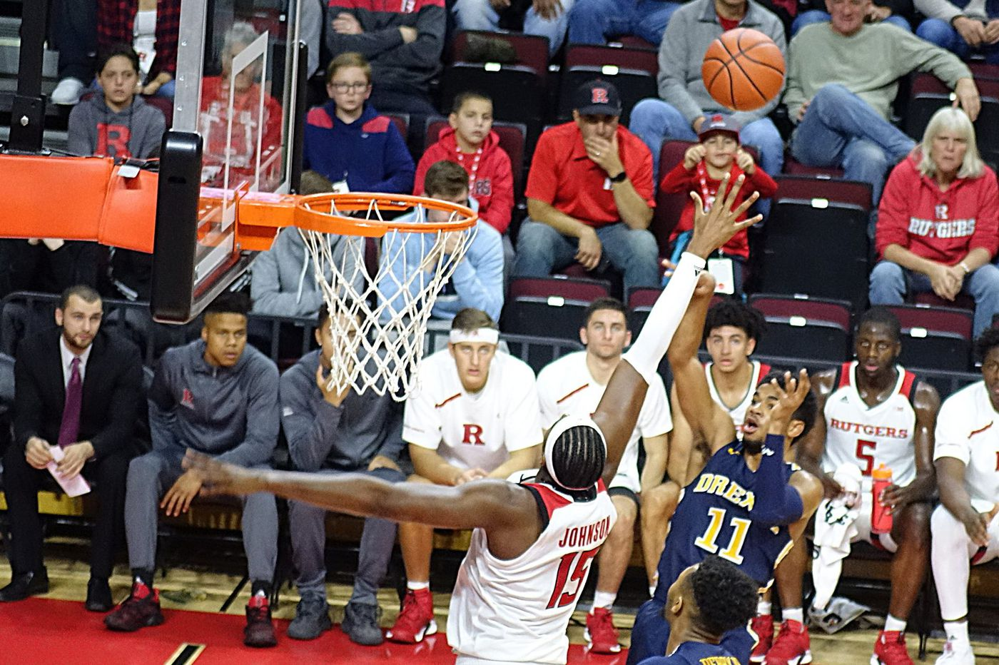 Rutgers uses second half surge to defeat Drexel 95-66