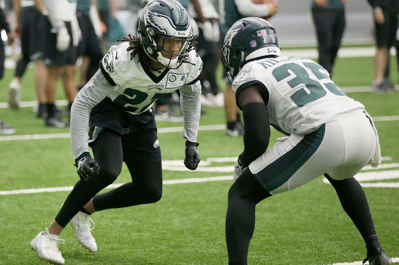 Sidney Jones might be slotted for a key Eagles role this season