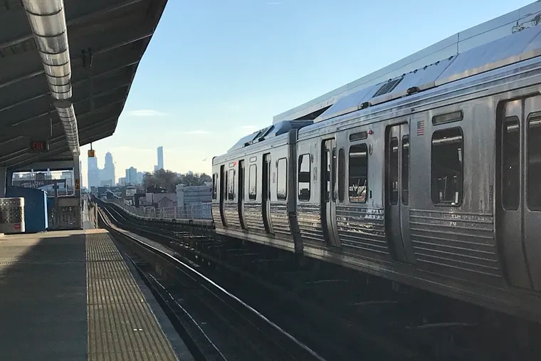 A train on the Market-Frankford Line heads toward Center City from 60th Street. SEPTA offers millions of trips a day.