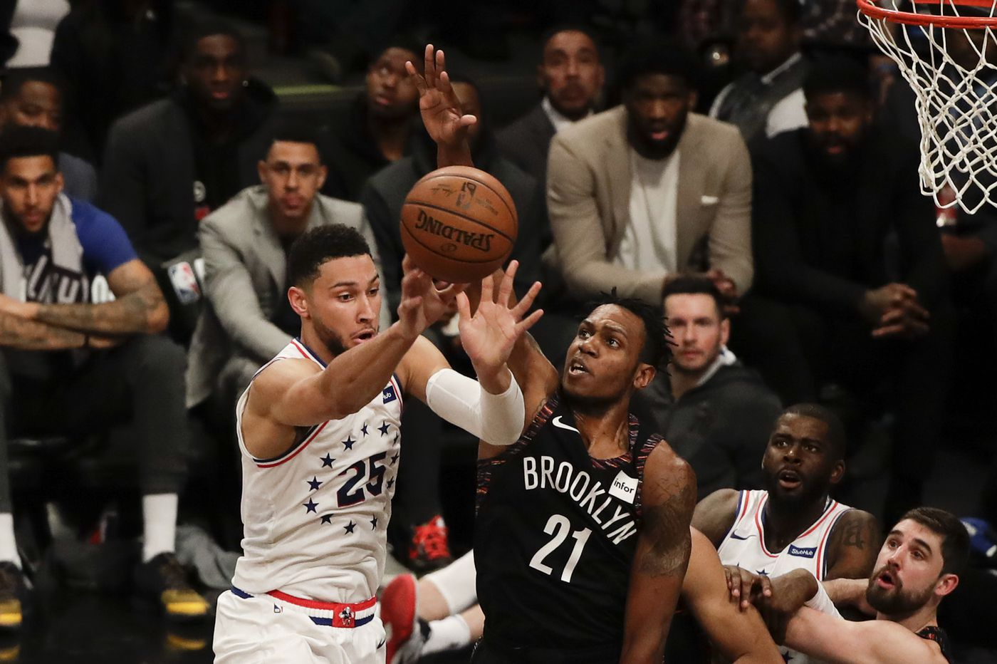 Sixers podcast: Ben Simmons' performance, Joel Embiid's replacements, looking ahead to Game 4