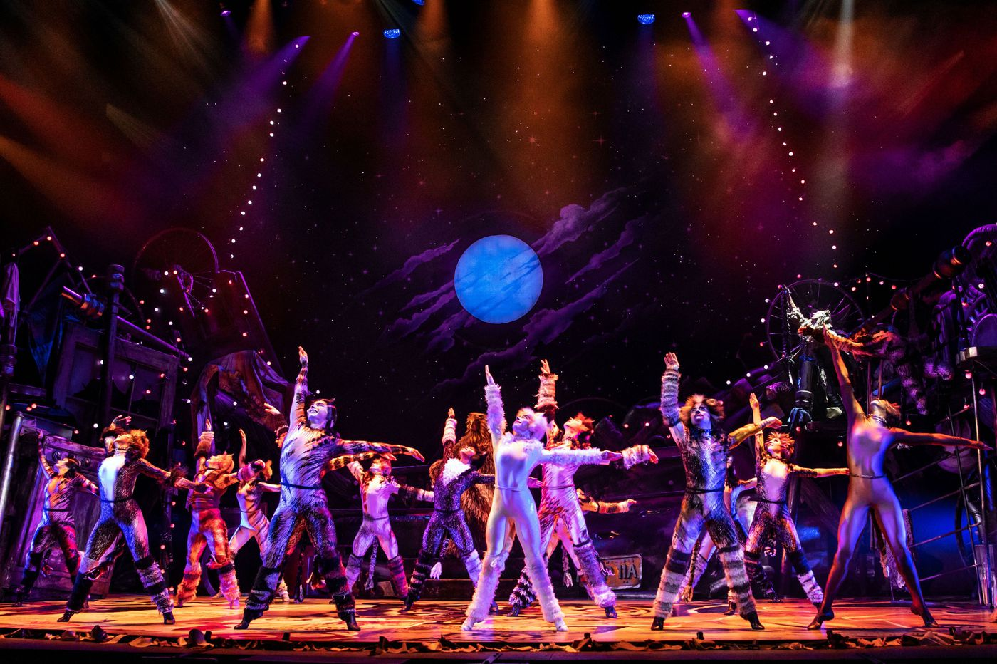 'Cats' at the Forrest: Dazzling, fun-loving parade of fabulous felines
