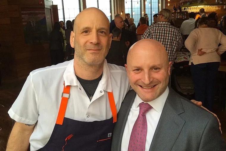 Marc Vetri (left) and Jeff Benjamin.