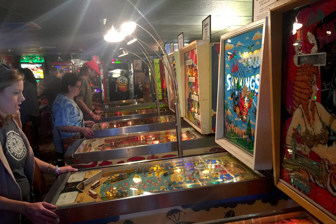 A pinball museum? There has to be a twist