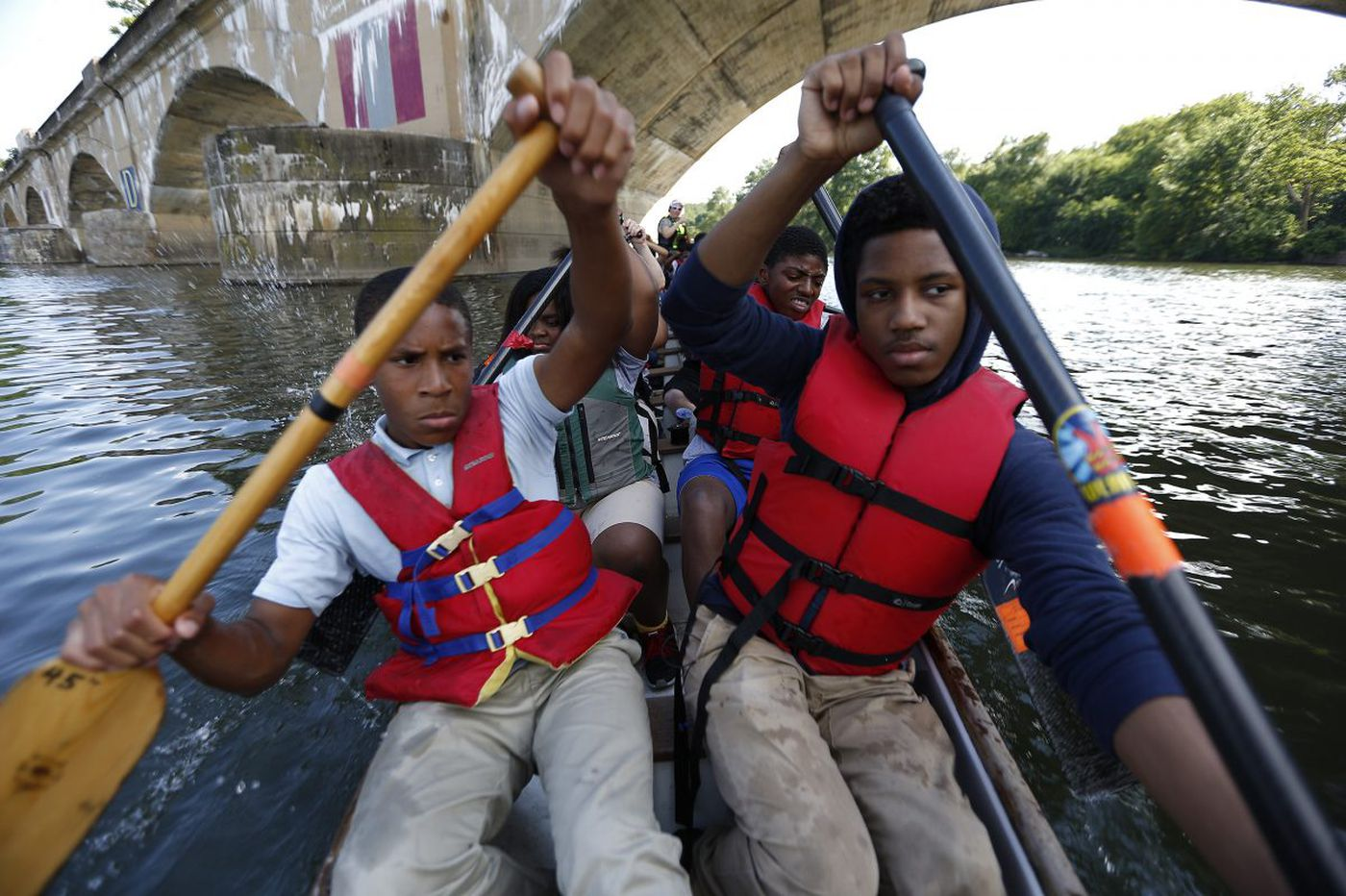 On the Schuylkill, Philly students learn about dragon boat racing - and life