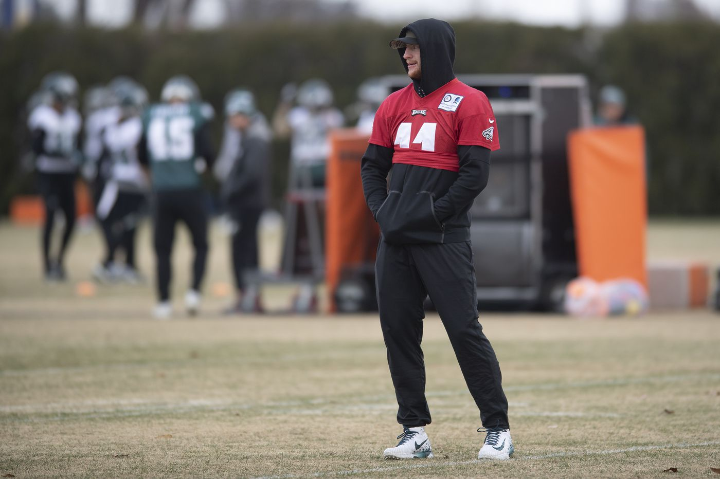 Carson Wentz broke a bone in his back. Here's what that could mean