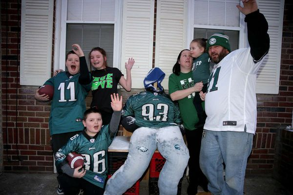 Eagles fans indulge wild superstitions for NFC Championship game