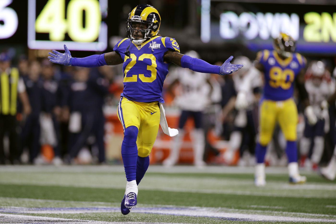 Super Bowl 2019: Rams' Nickell Robey-Coleman backs up criticism of Patriots' Tom Brady with big play; Kurt Warner on Nick Foles