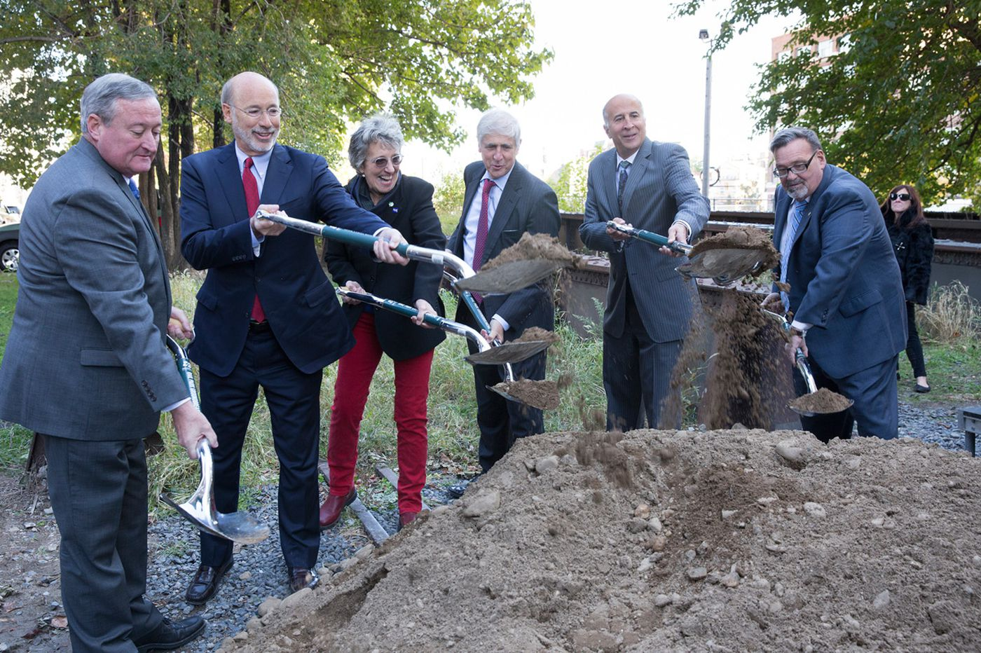 Viaduct Rail Park project officially underway