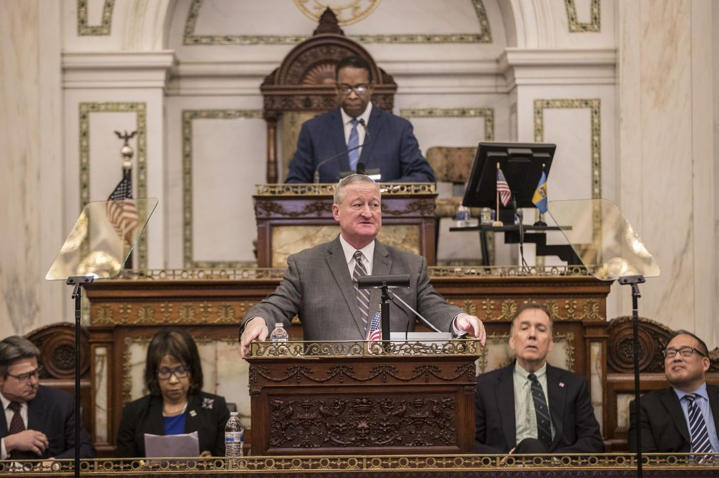 Mayor Kenney finds resistance to tax increases for Philly schools