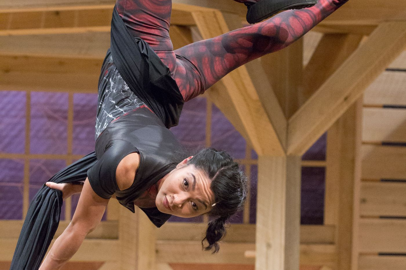 Meet the spider star of Arden Theatre's new 'Charlotte's Web.' (She's a contortionist.)