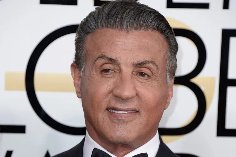 Sylvester Stallone attends the 74th Annual Golden Globe Awards at the Beverly Hilton on January 8, 2017 in Beverly Hills, Los Angeles, Calif.