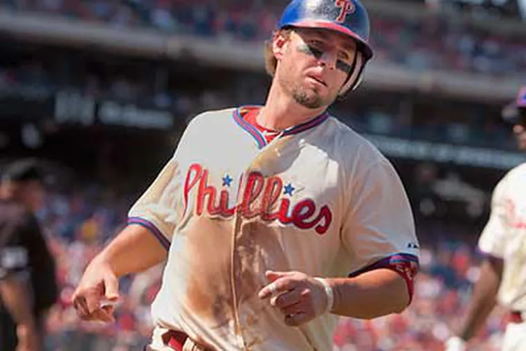 """""""He's not going to be our regular third baseman,"""" Ruben Amaro Jr. said about Kevin Frandsen. (Ed Hille/Staff file photo)"""