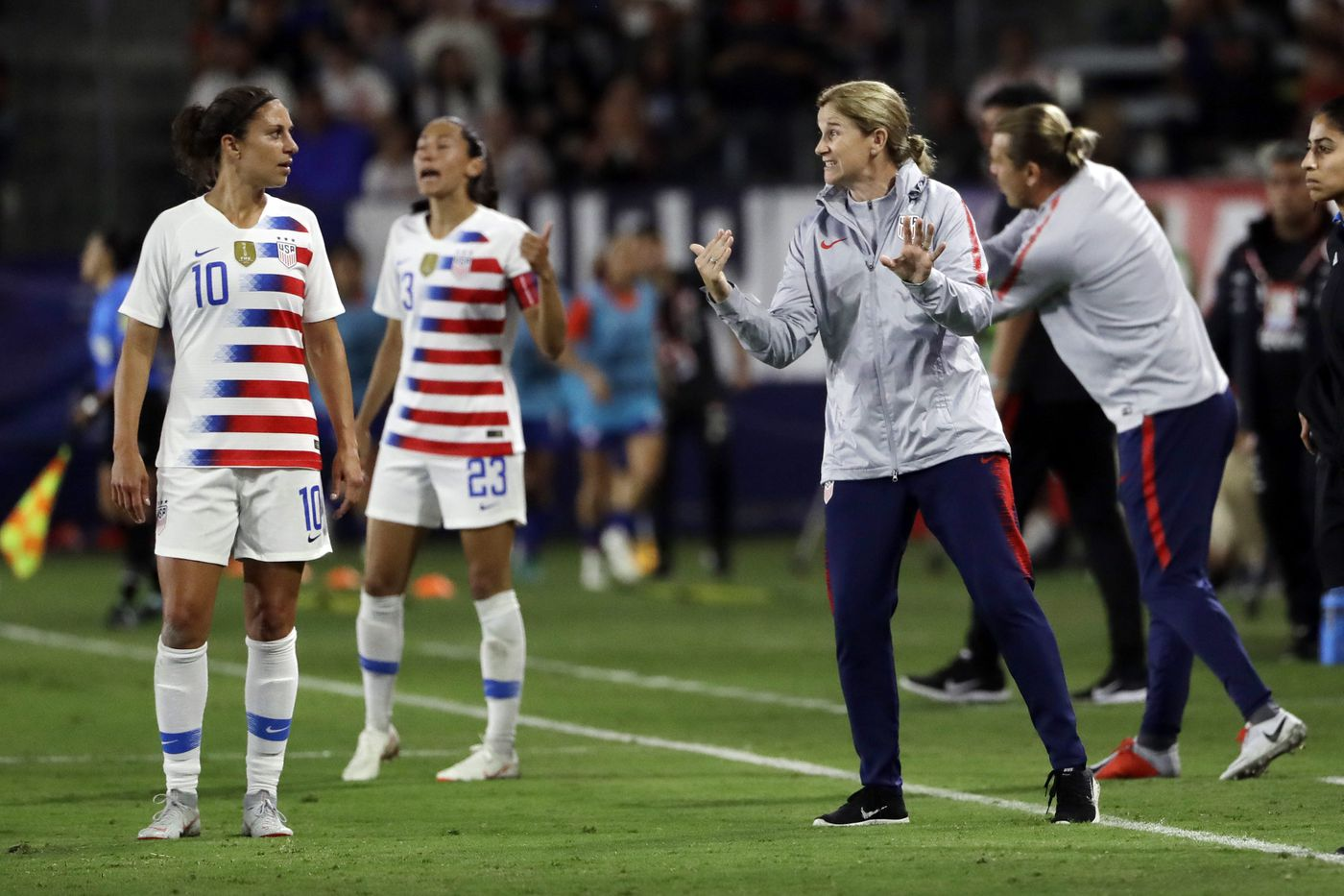 USWNT coach Jill Ellis calls out FIFA's latest gender equity problem: VAR at the World Cup
