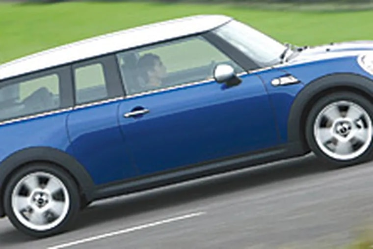 The Clubman is the latest Mini model, although a sport-utility vehicle is apparently in the works.