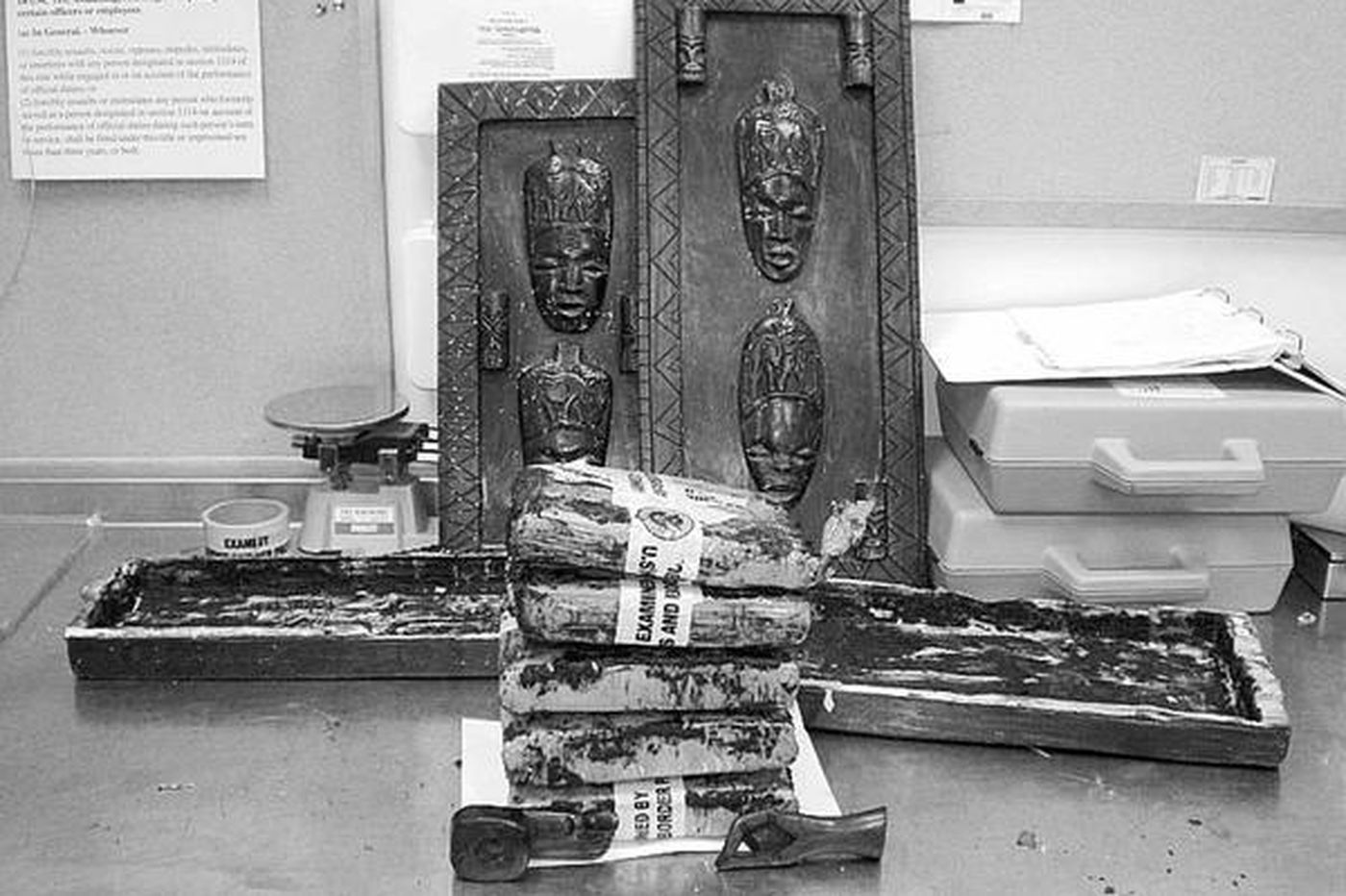 Artsy, crafty smugglers' pot seized