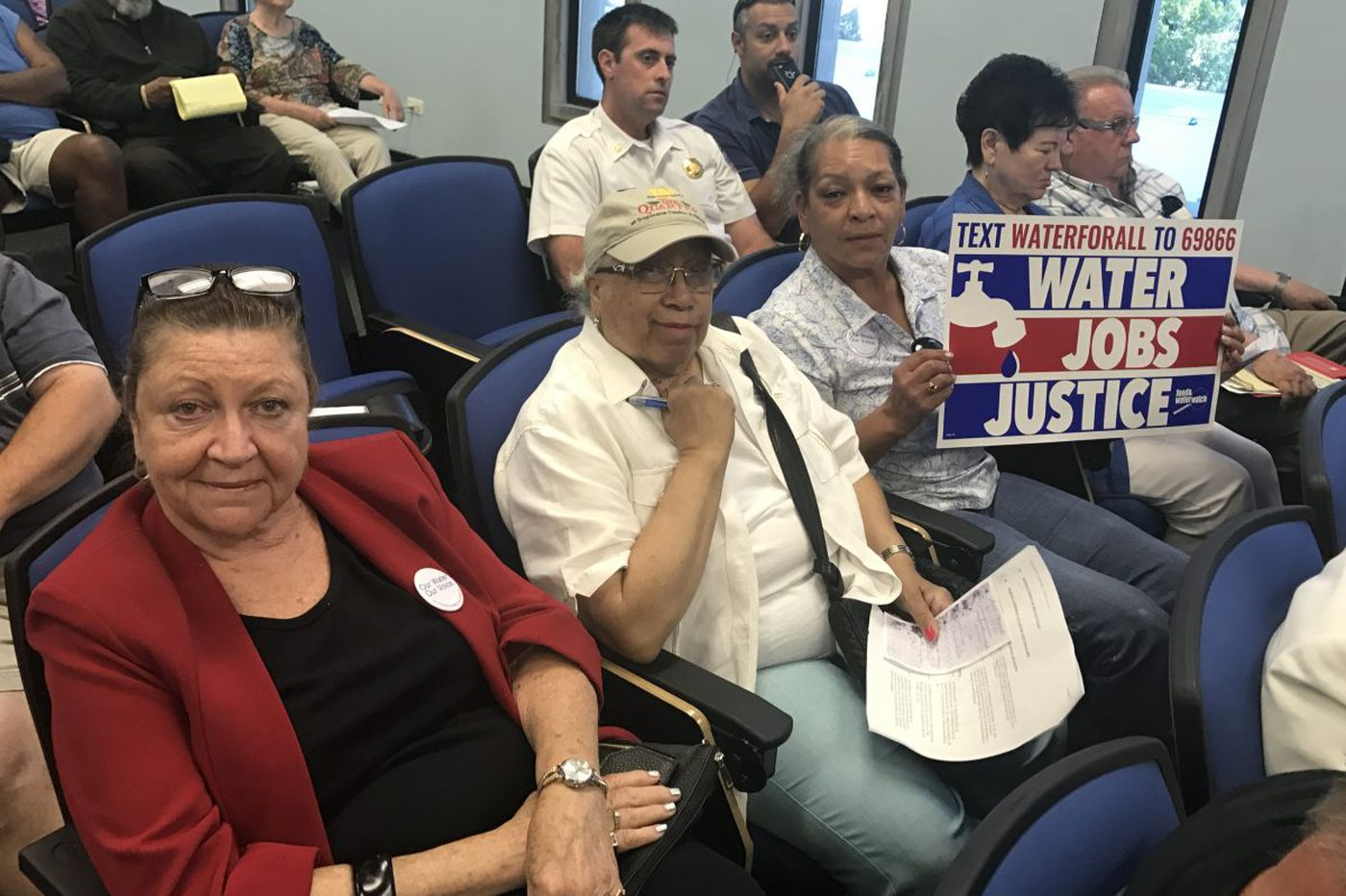 Atlantic City's female leaders, and 2,421 signatures, demand say in any water sale
