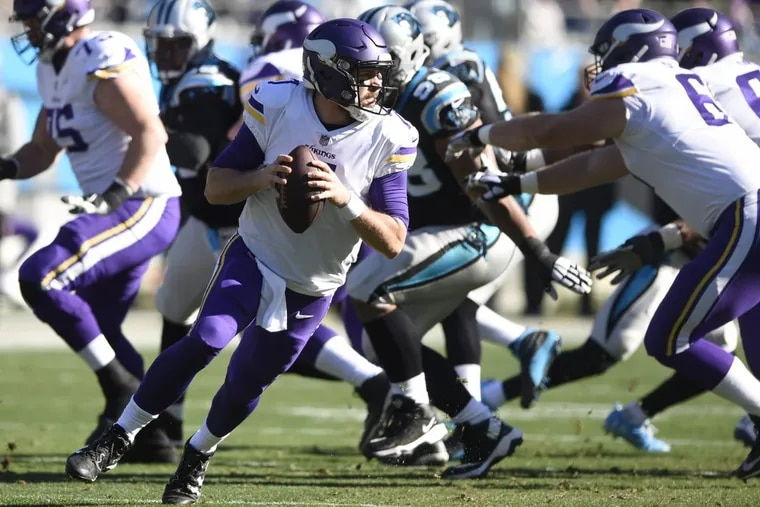 The Minnesota Vikings are the Philadelphia Eagles' chief rival for the No. 1 seed in the NFC and home field advantage throughout the NFL playoffs.