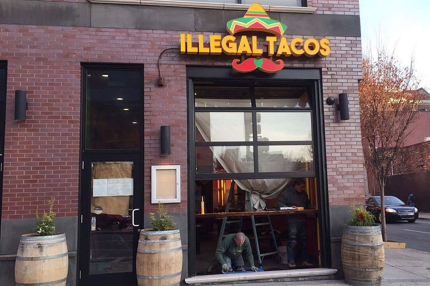 He's calling it Illegal Tacos: 'I know it's risky'
