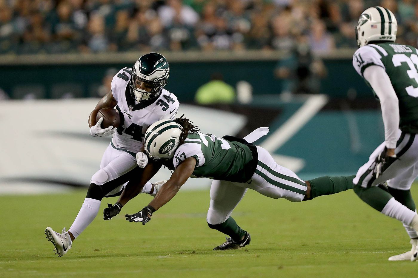 Eagles set 53-man roster, release Steven Means, waive Donnel Pumphrey, and keep Josh Perkins on cut-down day