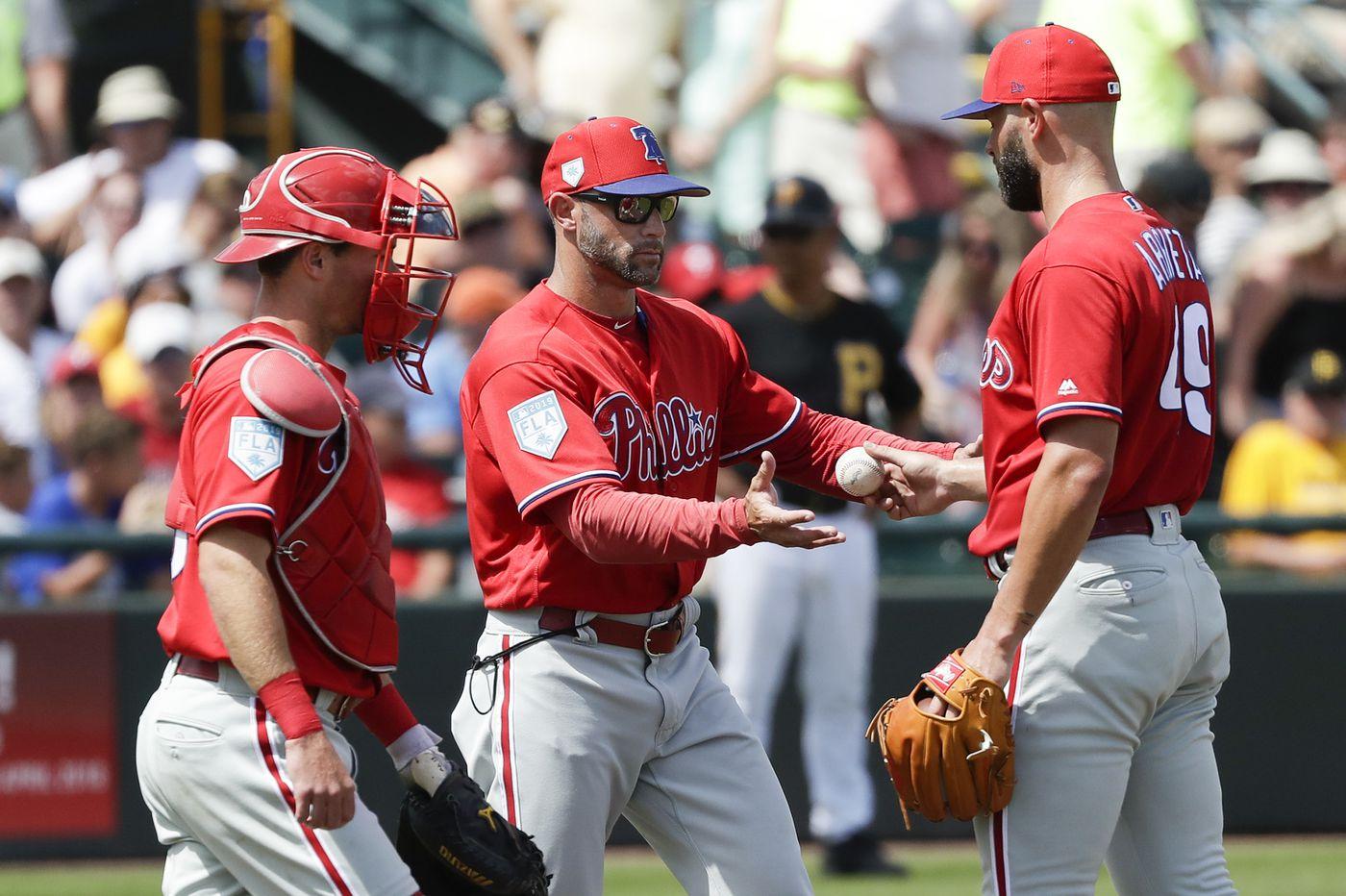 Phillies' Gabe Kapler agrees with Jake Arrieta's rip of team's 'flat' performance
