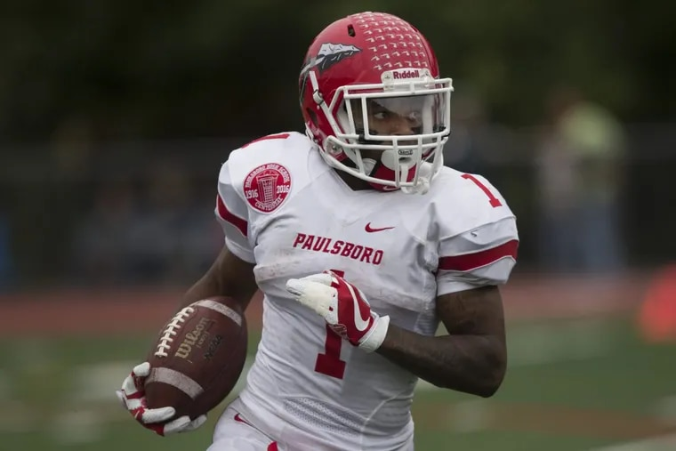 Paulsboro's Dehron Holloway led the Red Raiders to the Group 1 final.