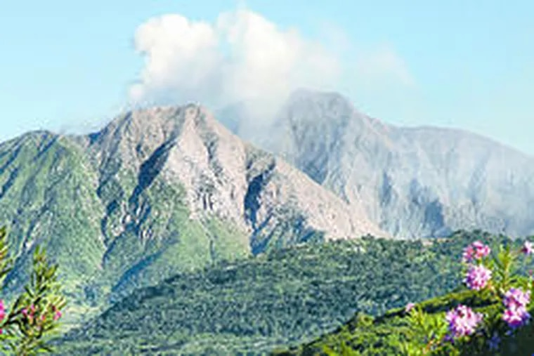 The Soufriere Hills Volcano spewed ash and rocks early this month. Two-thirds of the island is off-limits. The rest is reminiscent of a bygone Caribbean.
