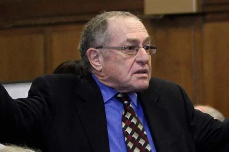 As the 2013-14 college year enters the home stretch, legendary Harvard Law School professor Alan Dershowitz will soon deliver his final lecture. (AP Photo)