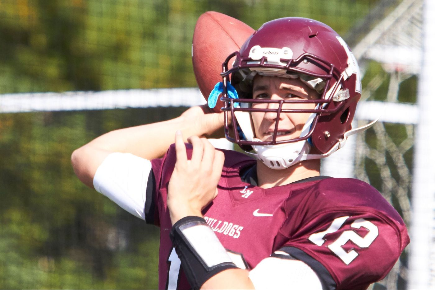 Matt O'Connor passes his way into Lower Merion football record book
