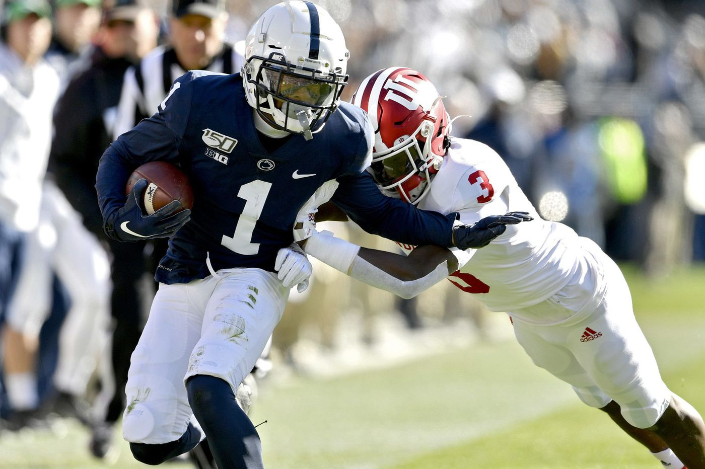 Penn State played last three quarters without KJ Hamler, its top receiver