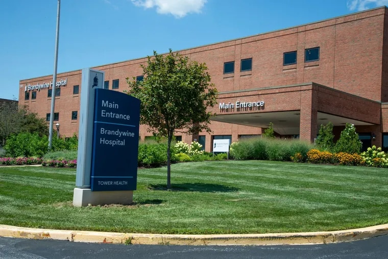 Brandywine Hospital near Coatesville is one of five that Tower Health has said it will consider selling as it tries to restore its financial health.