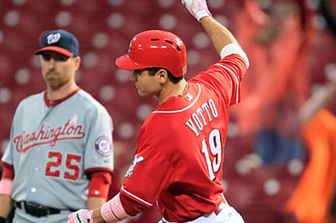 Touch 'Em All: Reds rolling despite the loss of Votto