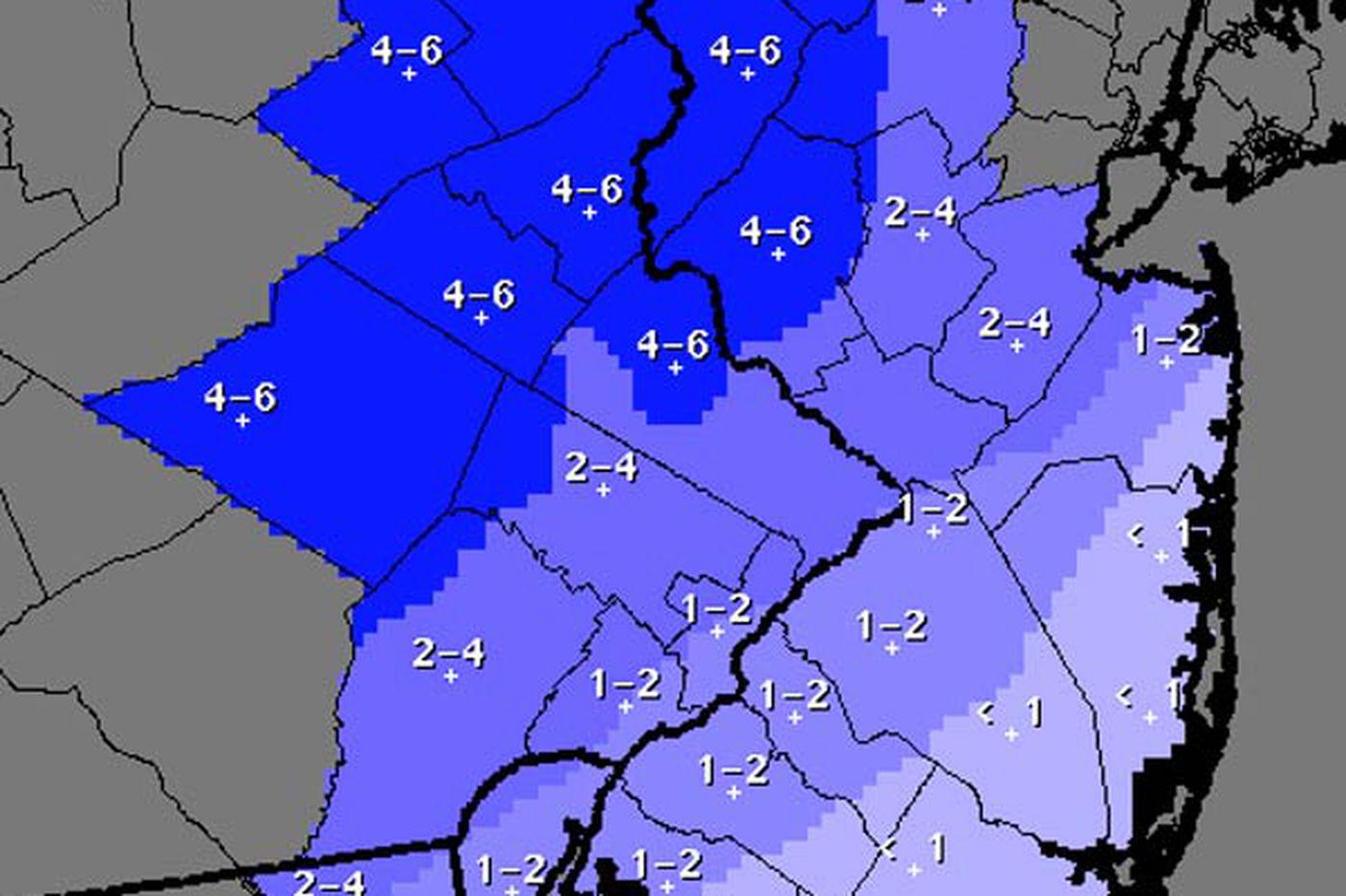 National Weather Service: Snow, rain headed to region Saturday