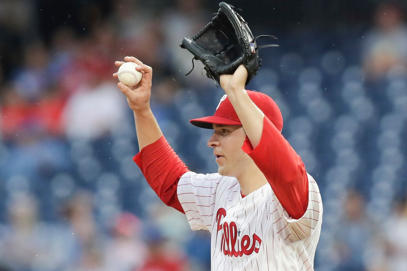 Phillies remove struggling Jerad Eickhoff from starting rotation