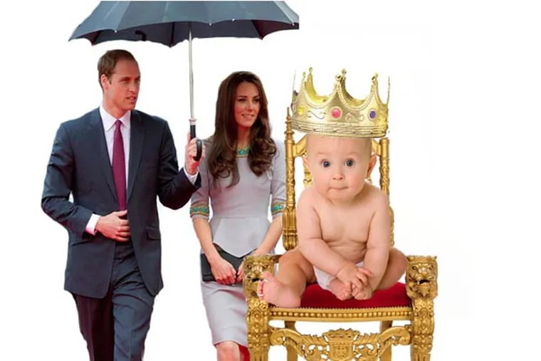 Prince William and Kate Middleton are expecting a royal baby. Click through for more images of the world's most stylish mum-to-be. (Graphic: Colin Kerrigan / Philly.com)