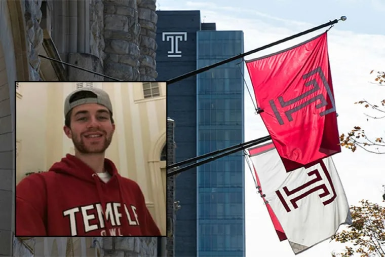 Temple University student, Michael Paytas, 24, of Holmes, Ridley Township from Delaware County died Monday after being found unconscious inside the university's Paley Library.